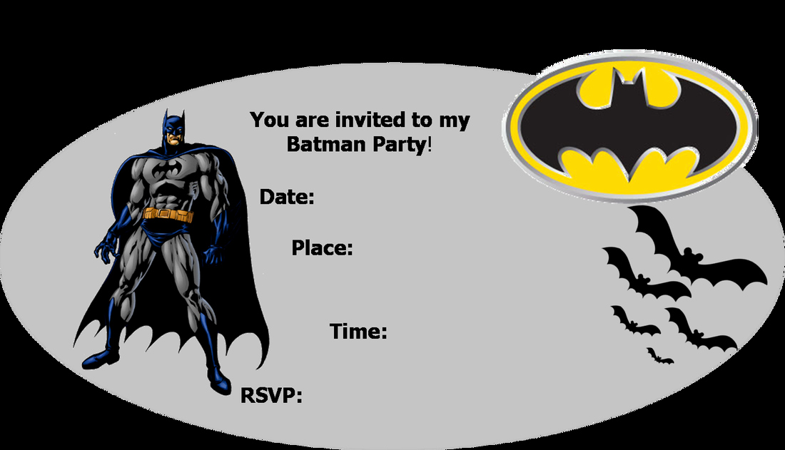 Free Printable Batman Invitations Elegant Batman Free Printables
