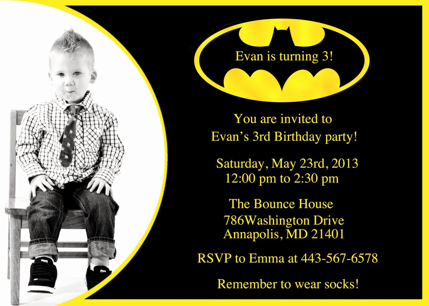 Free Printable Batman Invitations Inspirational Batman Birthday Party Invitation Printable by