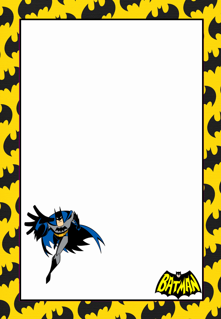 Free Printable Batman Invitations Luxury Free Printable Batman Invitations Cards or Labels