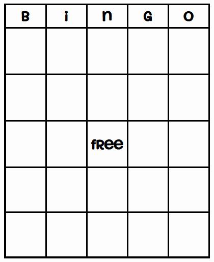 Free Printable Bingo Boards Awesome Bingo Cards On Pinterest