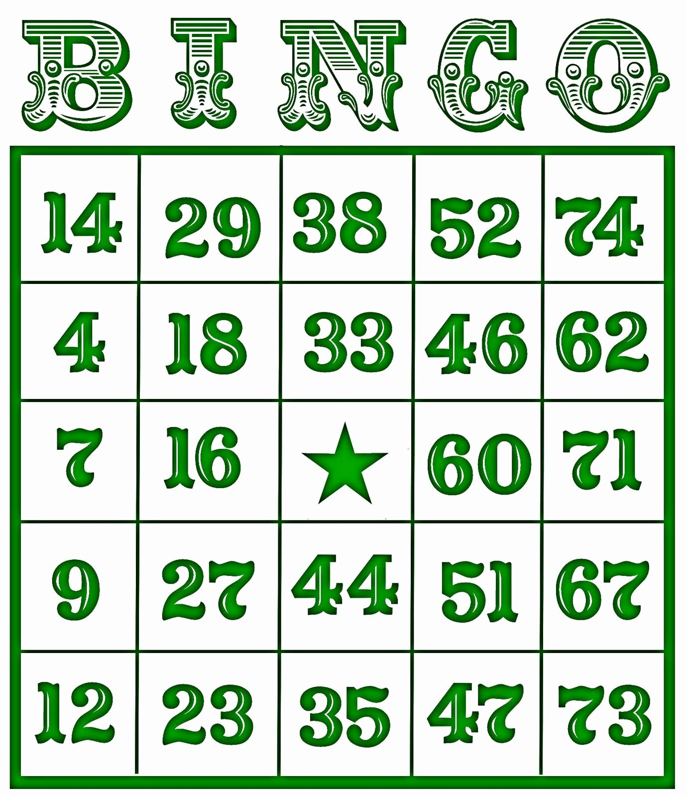 Free Printable Bingo Boards Awesome Christine Zani Bingo Card Printables to