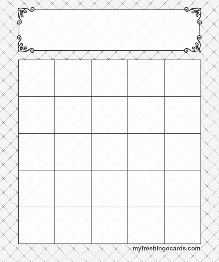 Free Printable Bingo Boards Best Of 5x5 Bingo Templates Cards