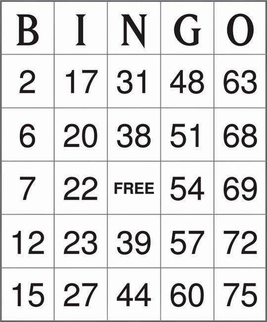 Free Printable Bingo Boards Best Of Printable Birthday Cards Printable Bingo Cards September 2017