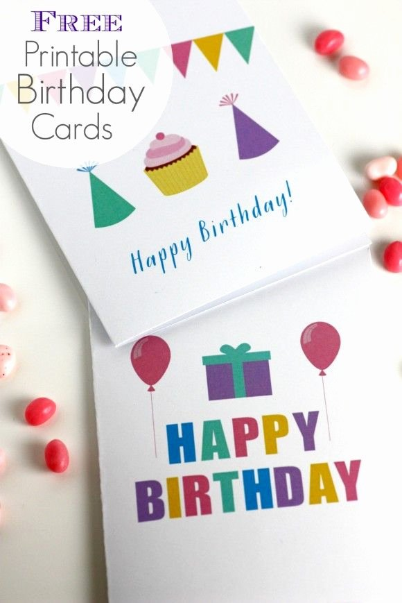 Free Printable Birthday Certificates Awesome Free Printable Blank Birthday Cards From Catchmyparty