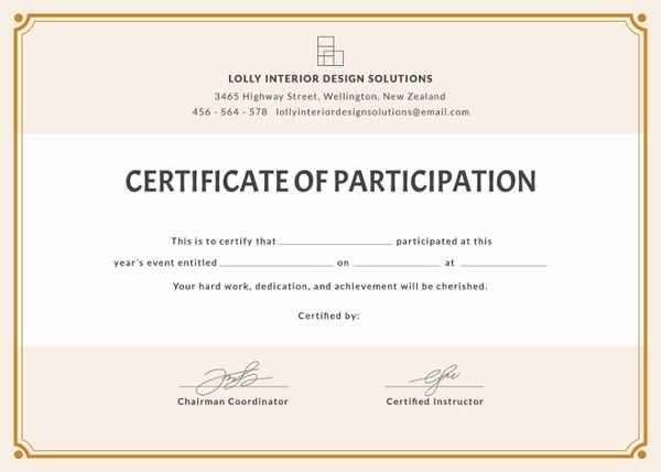 Free Printable Blank Certificates Awesome Printable Fill In Certificates – Free Blank