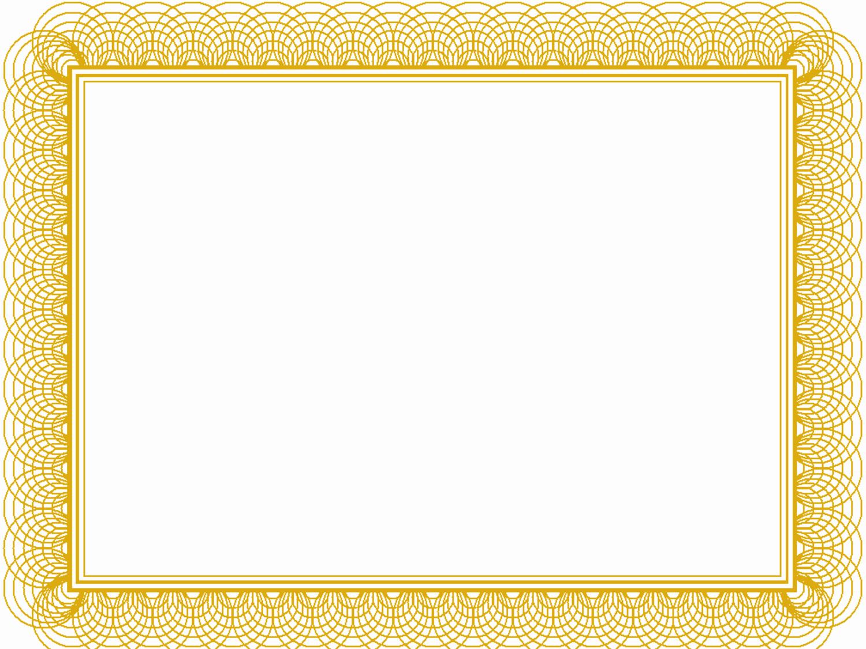 Free Printable Blank Certificates Fresh Blank Certificate Borders Templates Free – Radio