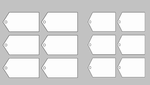 Free Printable Blank Gift Tags Beautiful 9 Blank Gift Tags Psd Vector Eps Jpg