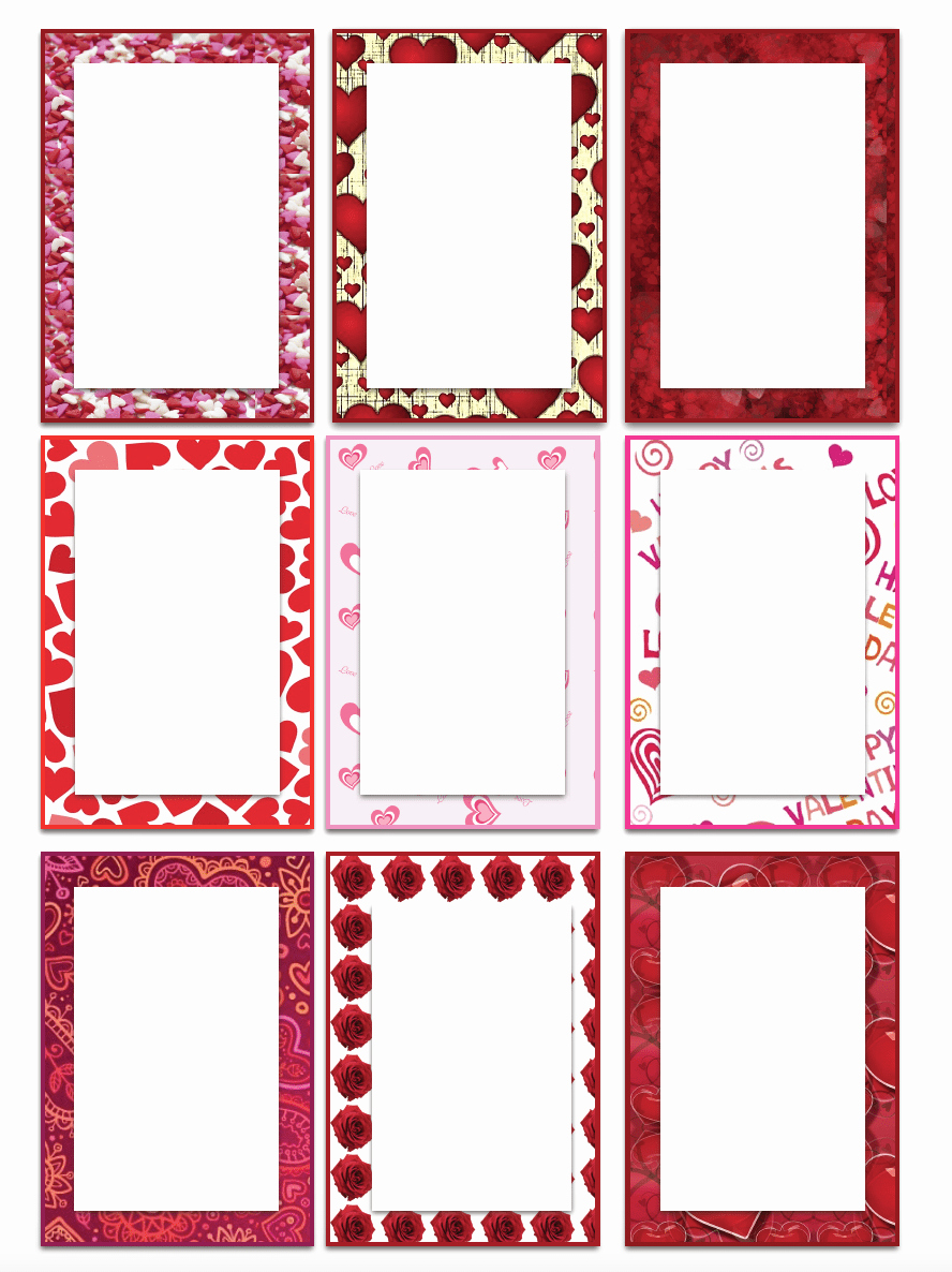Free Printable Blank Gift Tags Beautiful Free Printable Valentine S Day Gift Tags Multiple Designs