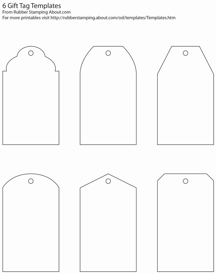 Free Printable Blank Gift Tags Beautiful Make Your Own Custom Gift Tags with these Free Printable