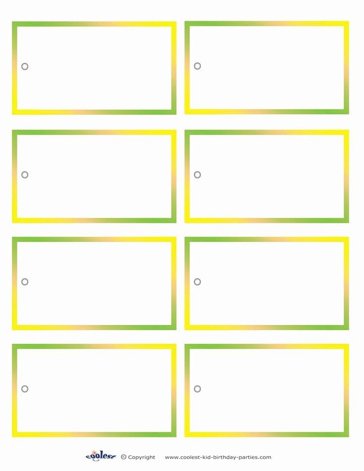 Free Printable Blank Gift Tags Elegant Blank Printable Sesame Street Favor Tags Coolest Free