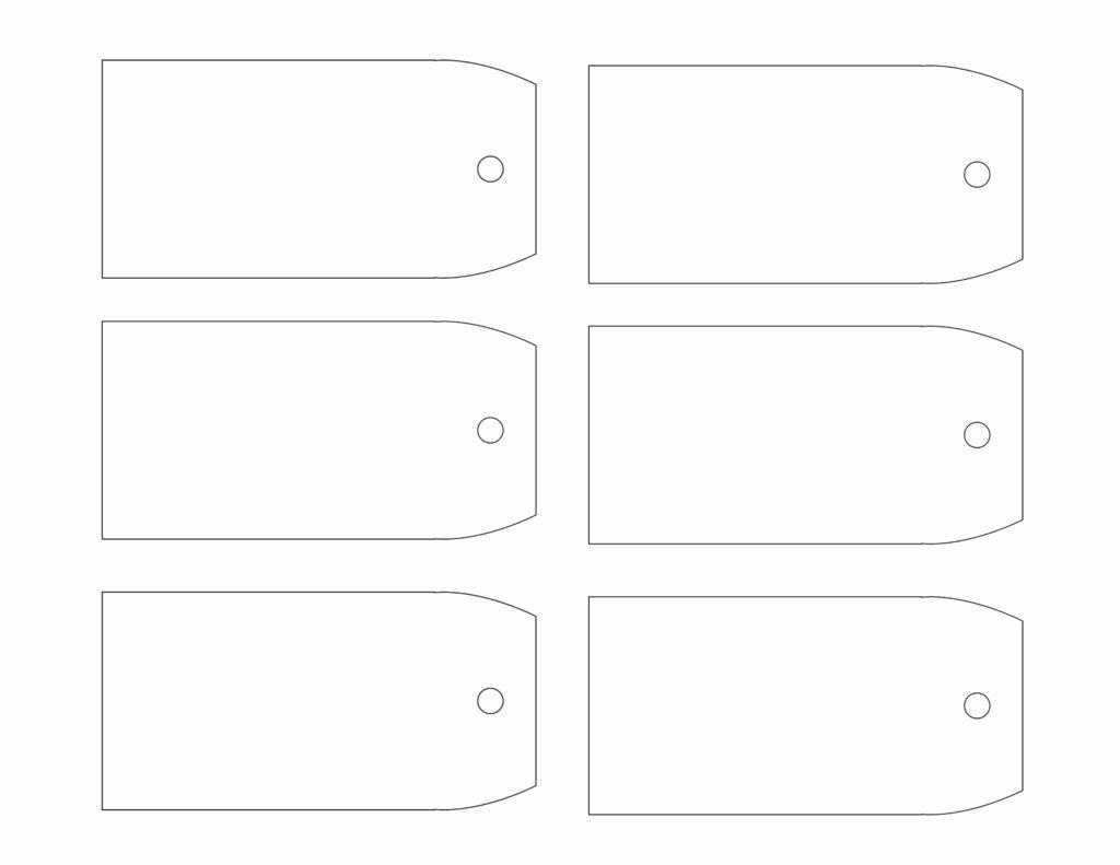 Free Printable Blank Gift Tags Fresh Printable Gift Tag Templates