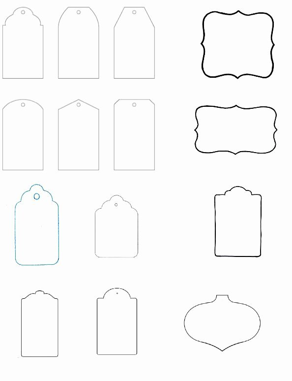 Free Printable Blank Gift Tags Inspirational Blank T Tag Templates the Art Of Ting