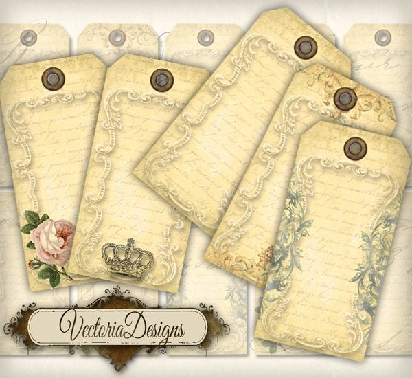 Free Printable Blank Gift Tags Lovely Vintage Blank Tags Printable Paper Craft Art T Tag Hobby
