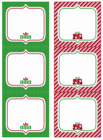 Free Printable Blank Gift Tags Unique Free Printable Christmas Gift Tags