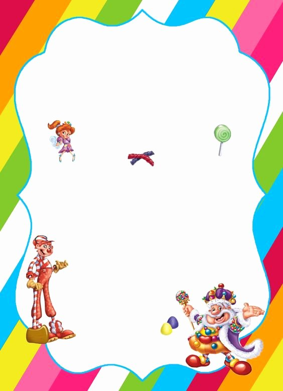 Free Printable Candyland Invitations New Pinterest • the World's Catalog Of Ideas