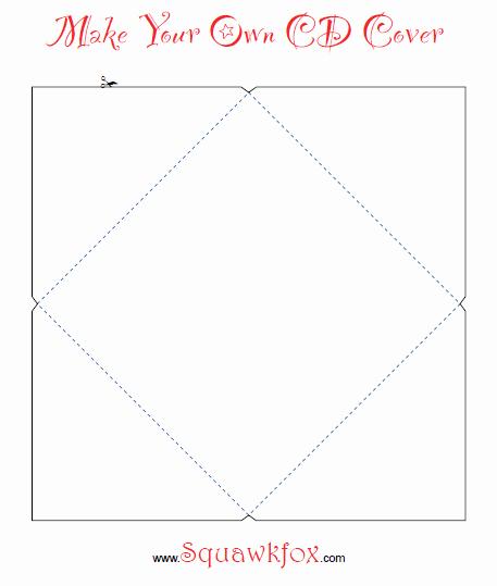 Free Printable Cd Cover Template Fresh Printable Cd Cover Template