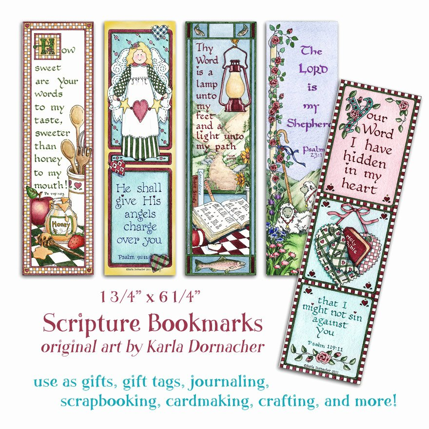 Free Printable Christian Bookmarks Elegant Five Bible Bookmarks Instant Download Scripture by