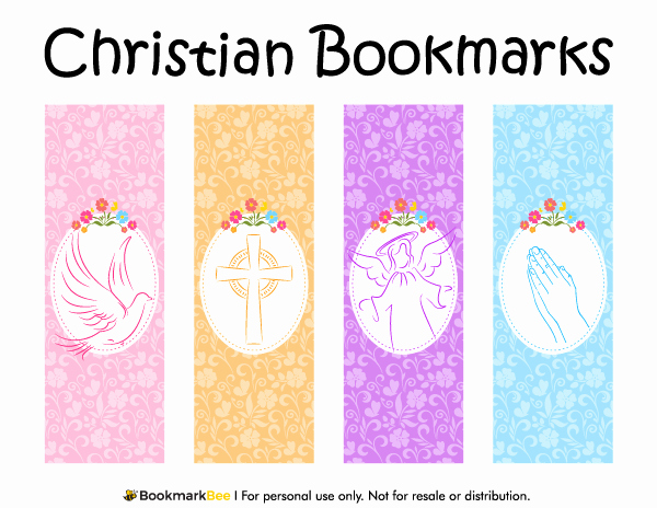 Free Printable Christian Bookmarks Inspirational 87 Free and Printable Bookmarks