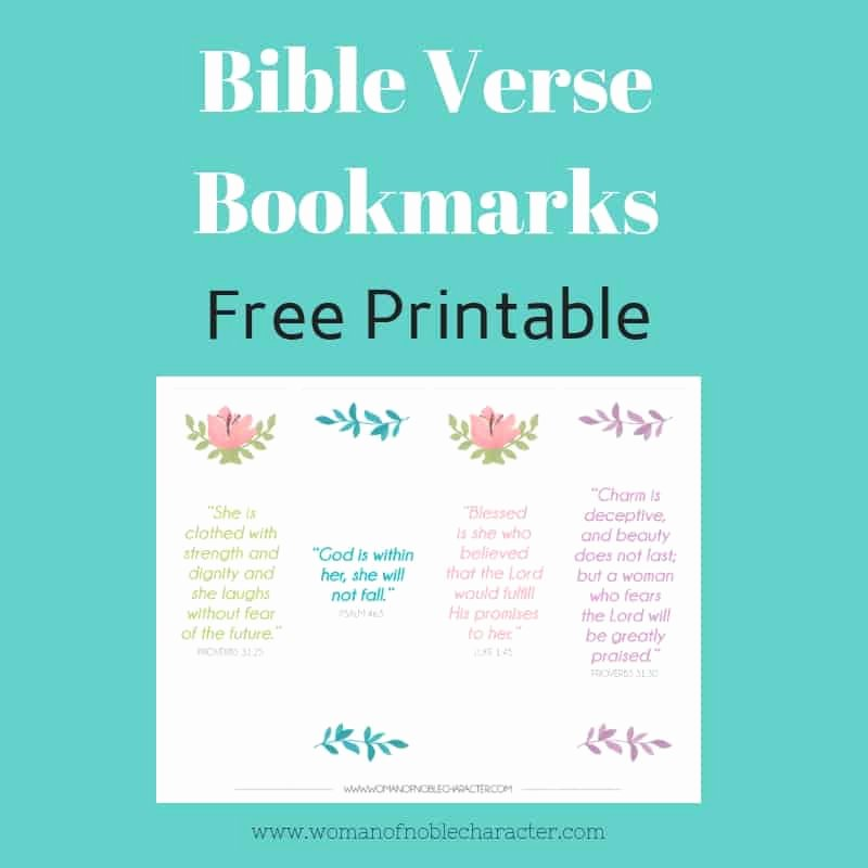 Free Printable Christian Bookmarks Lovely Bible Verse Bookmarks Free Free Printable