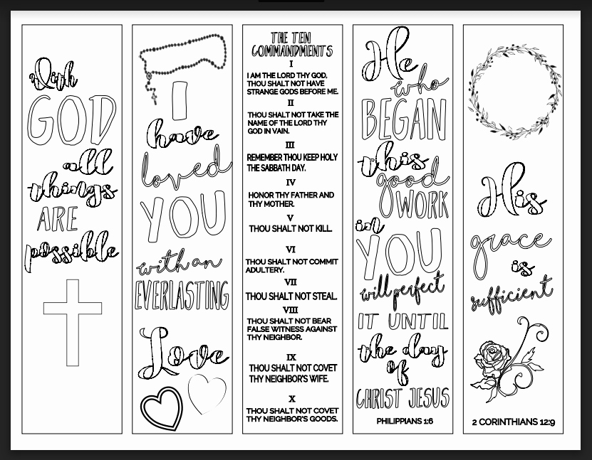 Free Printable Christian Bookmarks Luxury Christian Study tools and Art Free Bookmarks