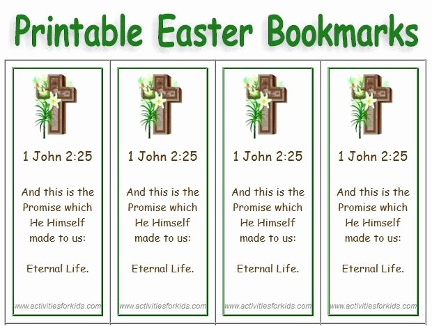 Free Printable Christian Bookmarks Luxury Free Printable Easter Bookmarks Select Picture Add Text