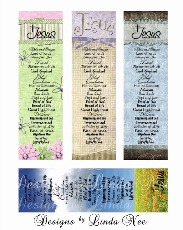 Free Printable Christian Bookmarks New Christian Bookmark Template – 33 Free Psd Ai Vector Eps