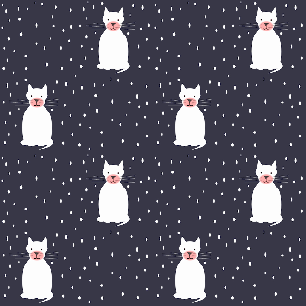Free Printable Christmas Paper Beautiful Free Printable Christmas Cat Scrapbooking Paper