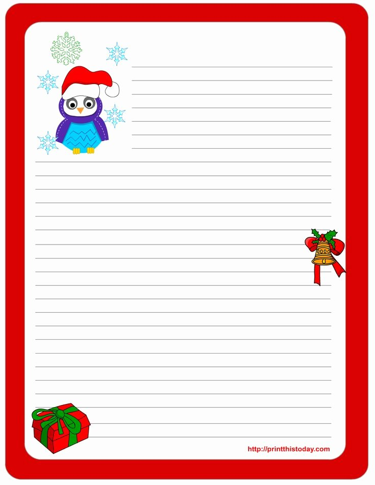 Free Printable Christmas Stationary Best Of 111 Best Christmas Stationery Images On Pinterest