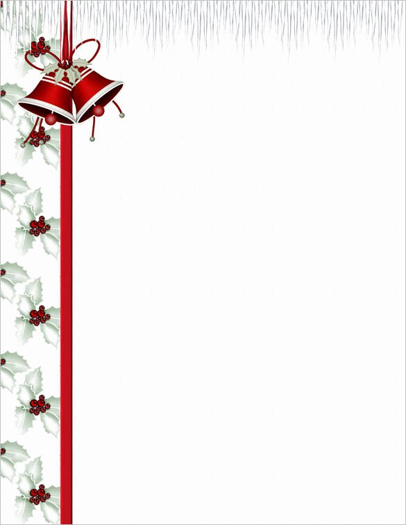 Free Printable Christmas Stationary Elegant 25 Christmas Stationery Templates Free Psd Eps Ai