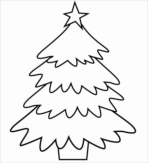 Free Printable Christmas Tree Template Best Of 32 Christmas Tree Templates Free Printable Psd Eps