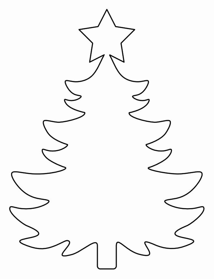 Free Printable Christmas Tree Template Best Of 37 Christmas Tree Templates In All Shapes and Sizes