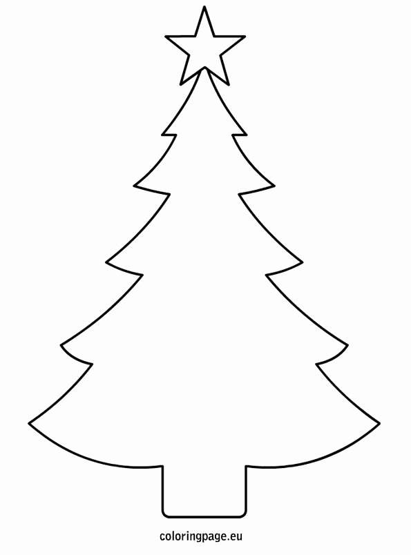 Free Printable Christmas Tree Template Best Of Related Coloring Pagesmerry Christmasmerry Christmas