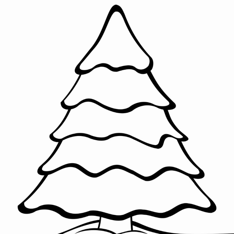 Free Printable Christmas Tree Template Elegant Free Printables 3 4 What Mommy Does