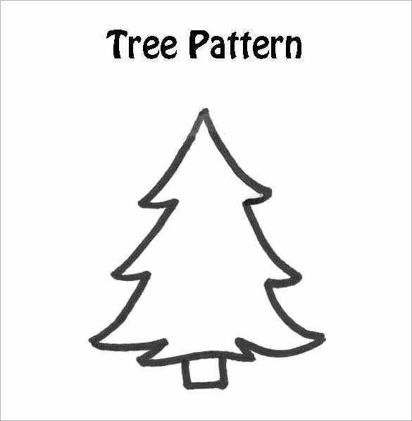 Free Printable Christmas Tree Template Fresh Free Printable Christmas Tree Template Christmas Printables
