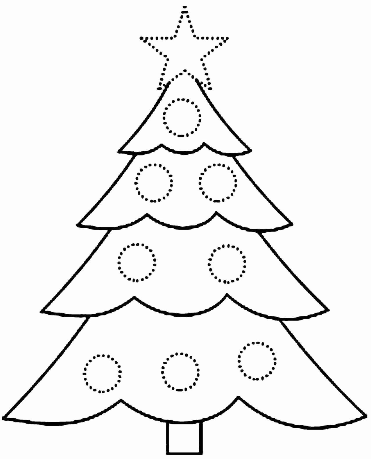 Free Printable Christmas Tree Template Inspirational Printable Tree Template Coloring Home