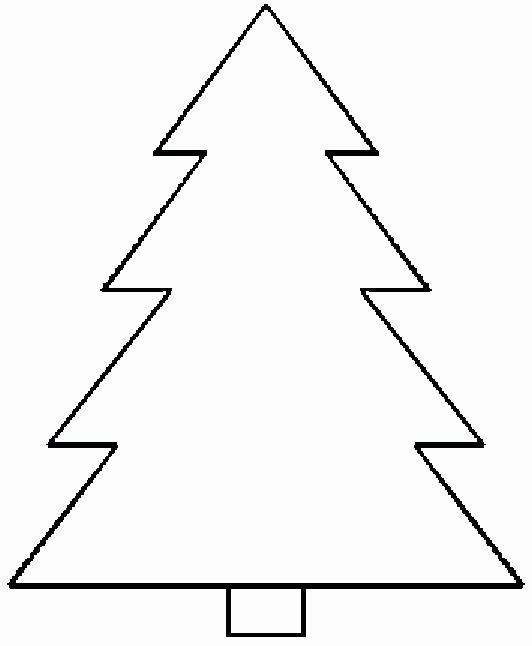 Free Printable Christmas Tree Template New 50 Christmas Tree Printable Templates