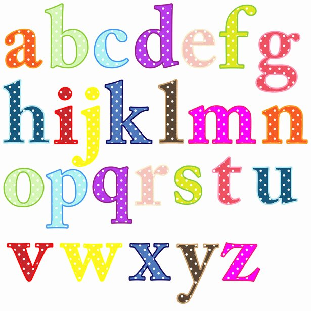 Free Printable Clip Art Letters Lovely Alphabet Letters Clip Art Free Stock Public Domain
