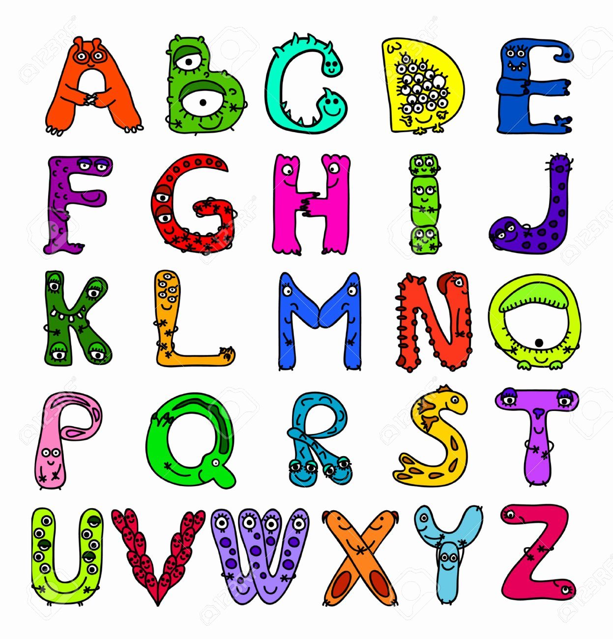 Free Printable Clip Art Letters New English Alphabet Clipart – 101 Clip Art