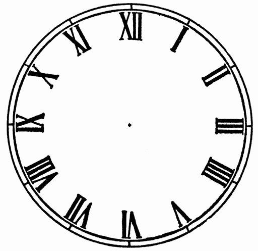 Free Printable Clock Faces Fresh Free Blank Clock Face Printable Download Free Clip Art