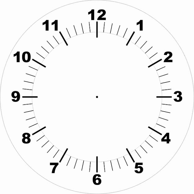 Free Printable Clock Faces New Face Printable Clock