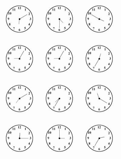 Free Printable Clock Template Lovely Time Practice Sheet for Kids All This Clock Face