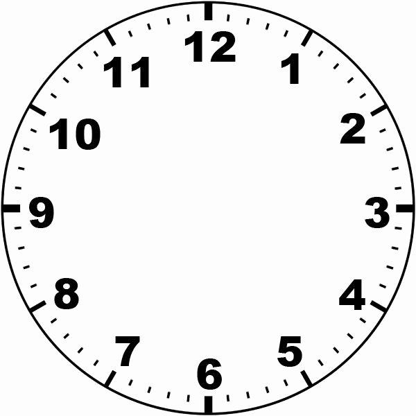 Free Printable Clock Template Luxury Clock Face by Missmindedviantart On Deviantart
