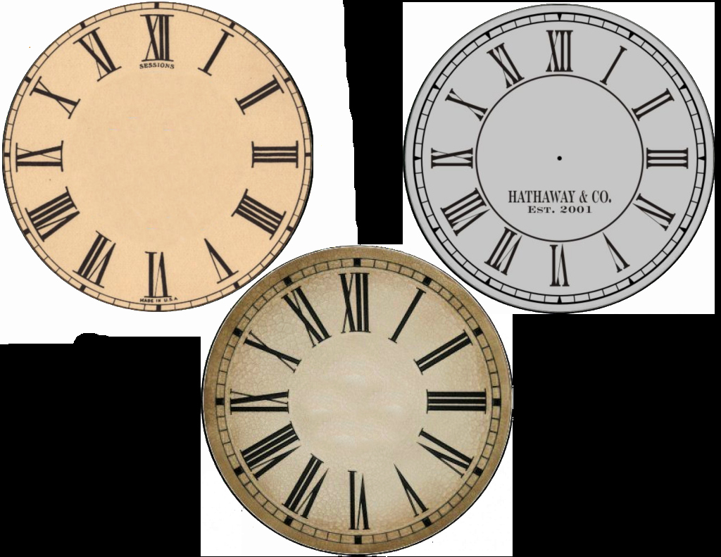 Free Printable Clock Template New New Years Free Clock Face Printables Cd Size and Plate