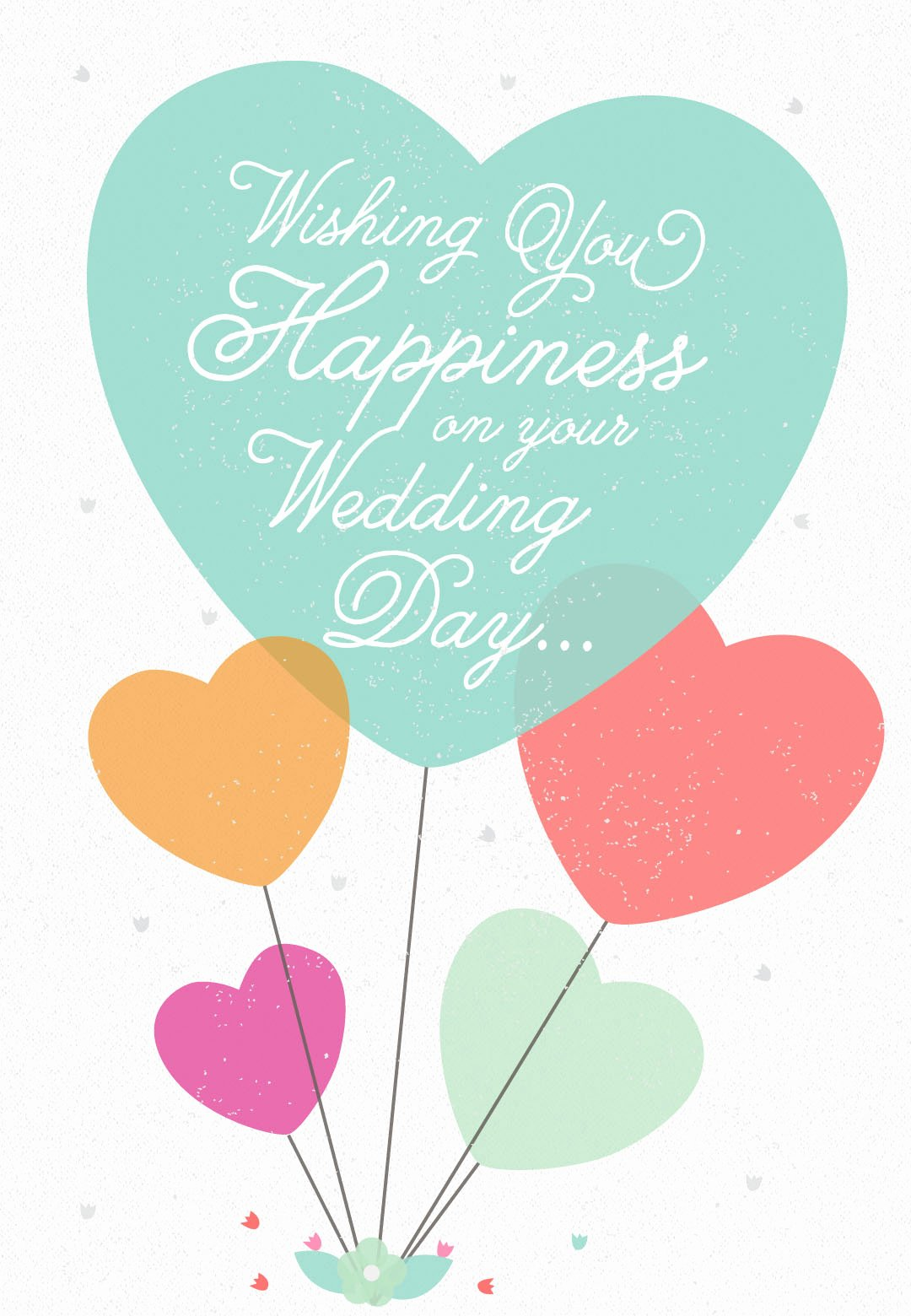 Free Printable Congratulations Cards Awesome Wedding Happiness Free Wedding Congratulations Card
