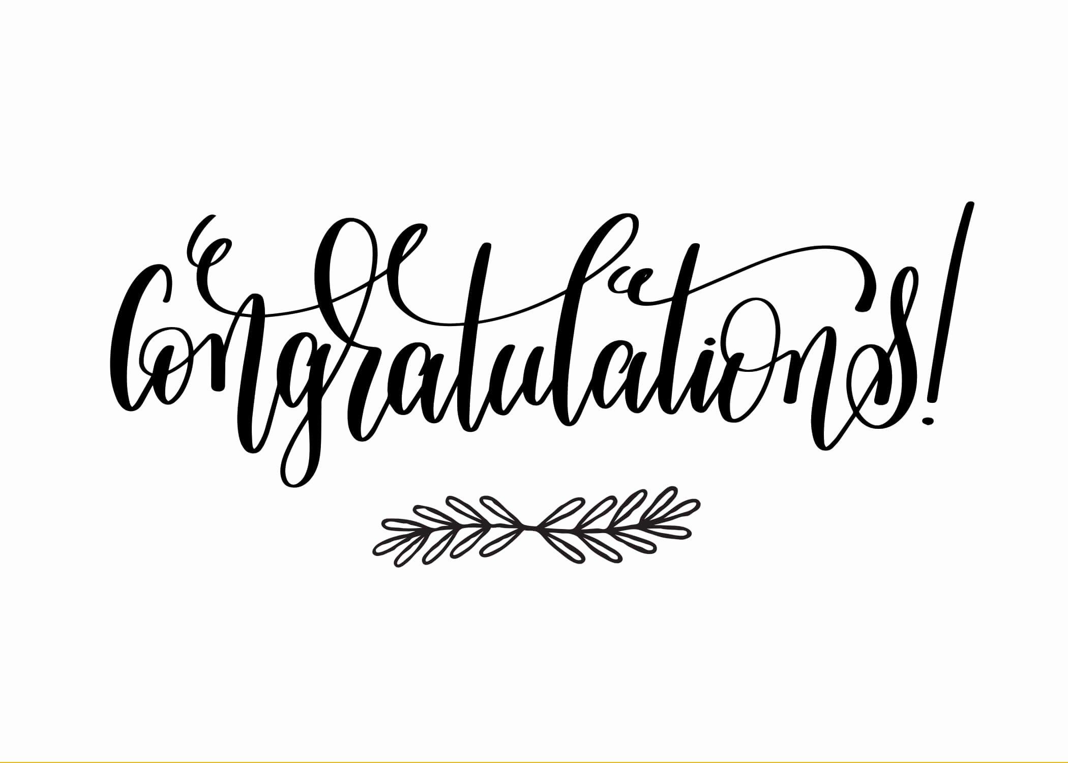Free Printable Congratulations Cards Elegant Congratulations Congratulations Card Free