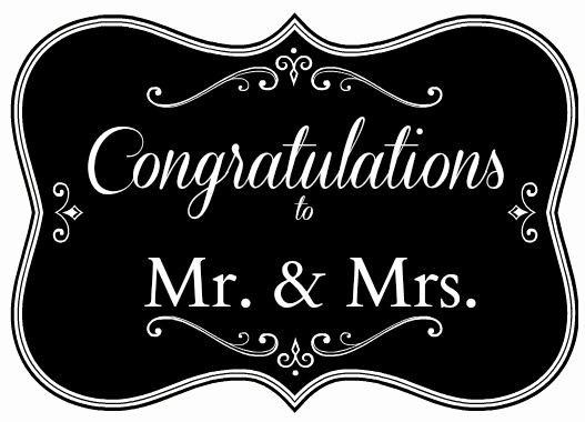 Free Printable Congratulations Cards Elegant Free Printables Congratulations Mr & Mrs Card