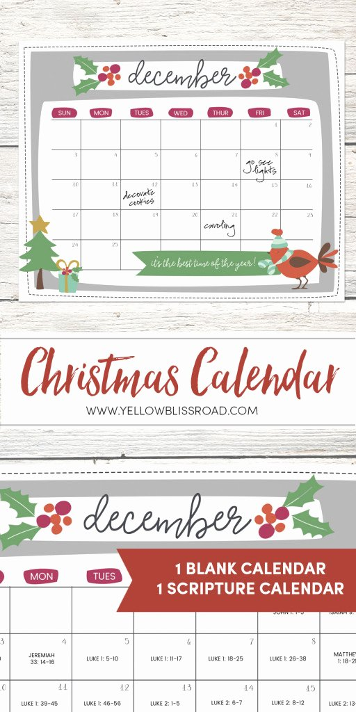 Free Printable Countdown Calendar Luxury Free Printable Christmas Countdown Calendar for December