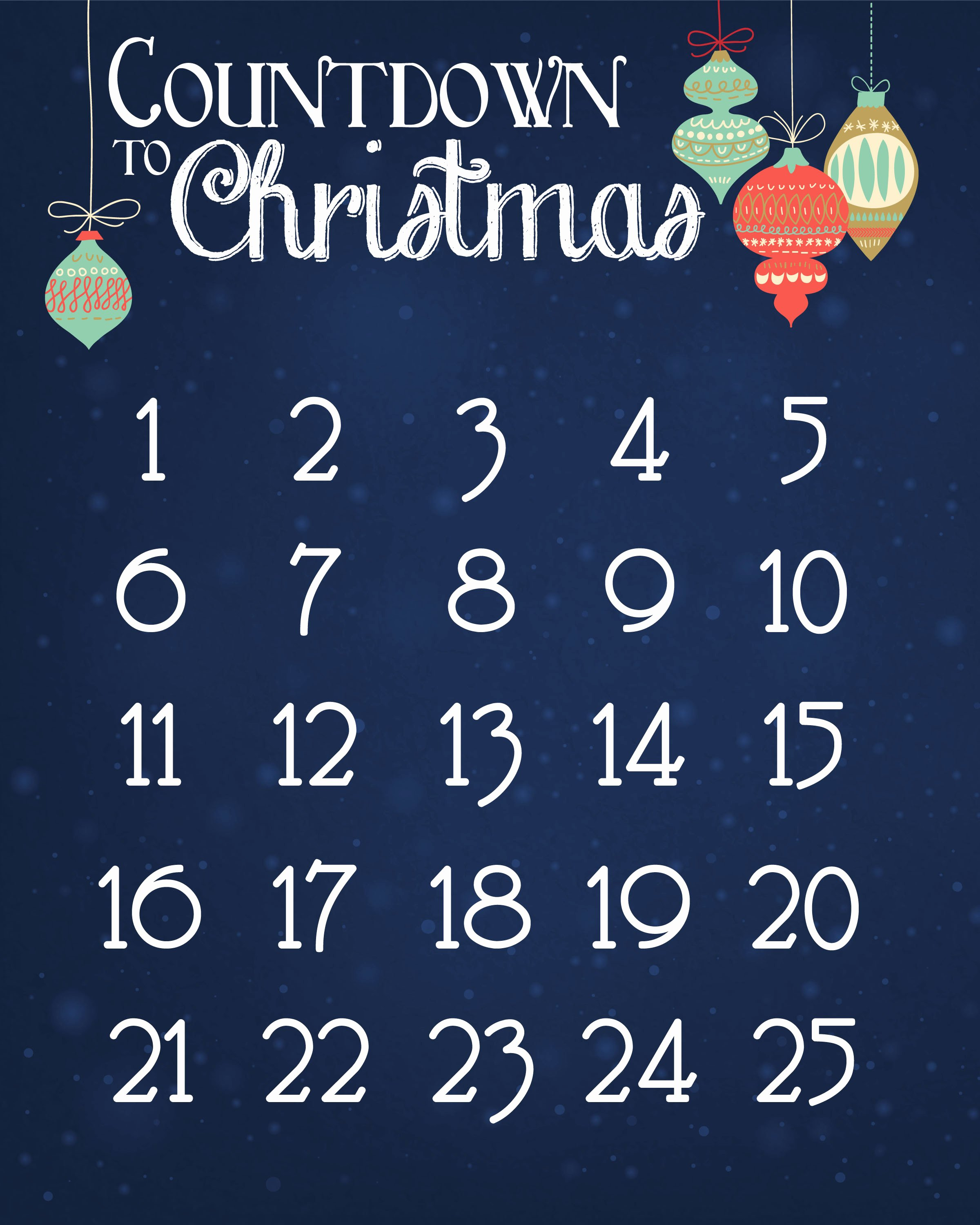 Free Printable Countdown Calendar New Christmas Countdown Calendar Free Printable How to Nest