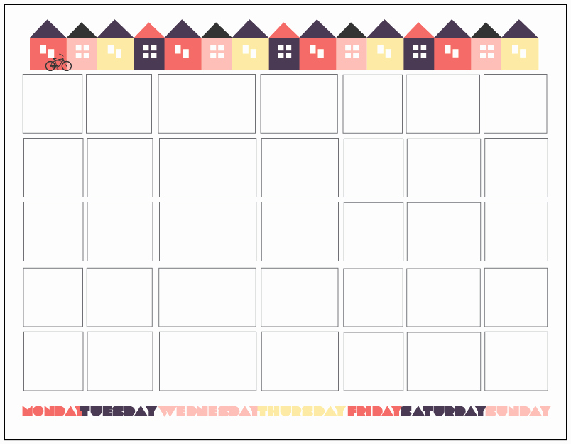Free Printable Countdown Calendar Unique Fit 3 Ways