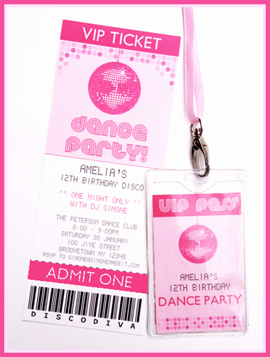 Free Printable Dance Party Invitations Fresh Printable Disco Dance Party Invitations & Decorations